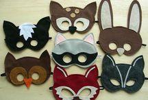 маски из фетра