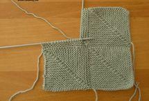 Carré tricot