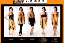 1-2 ka 4 / One outfit different ways