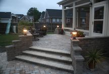 Raised patios