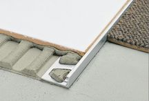 Schluter / Constant development of innovative solutions from porcelain tile to natural stone installations.