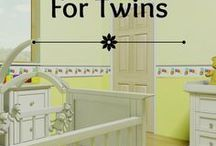 Make It A Double / Expecting multiples? Great things come in pairs. This board is all for all things TWINS.