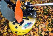 Kayak Kaddy / Backwater Paddle Company and Kayak Kaddy...working together for the advancement of paddle sports!!   The Assault Hand Paddles are displayed on the Kayak Kaddy!