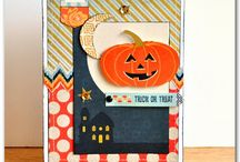 Halloween Crafts / Paper crafts, cards and more!