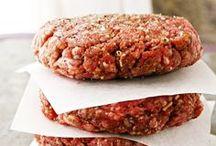 Burger patties