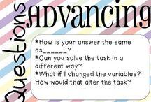 Math - Math Talk / by I love Lucy!