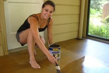 Concrete Porch Floor