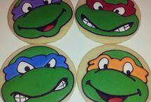 -- C O O K I E S * b i r t h d a y -- / Sugar cookies designed to celebrate birthdays