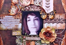 scrapbooking / Design team work for Scraps of Elegance featuring the October kit- Dreams of You
