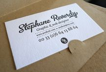 business cards and stationery / by Monica Katzenell