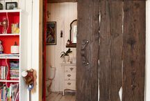 Styl Rustykalny Drzwi Przesuwne