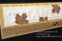STAMPIN' UP!- HERFST / FALL