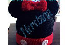 Gorros de lana / Gorros de lana hechos a mano personalizados