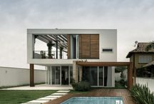 House exterior / House architecture exterior design living