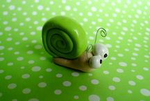5th Birthday Cake / Snail Cake