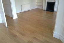 Living Room In Wood In West London / Client: Private Residence In West London. Brief: To supply and install a wood floor.