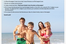 My Dream Family Cruise Vacation on Norwegian! / best cruise! / by Louise Lesser