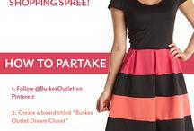 Burkes Outlet Dream Closet Contest