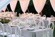 White Modern Clean Lines Wedding / #napaweddings #nancyliuchin #asavvyevent #calistoga #napa #meadowood #whitewedding #whiteflowers #flowers #white