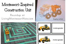 Montessori activities and educational toys