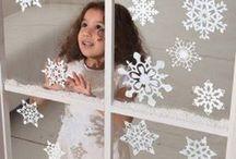 Ideias para decoração de janelas / usando papel