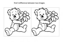 Spot and find the difference worksheets / İn this page you can find lots of free easy find and spot the difference worksheets for kids,parents and teachers.