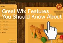 Wix / Wix.com info for creators, business owner, freelancers and developers that use Wix as the tool of choice.