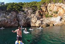 "PADDLE SURF MALLORCA / paddle tour in Mallorca, a really funny way to ""walk on the water"""