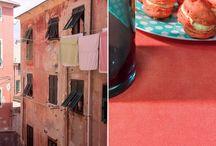 Elitis summer inspiration / Frech wallpaper and fabric brand Elitis summer inspiration