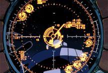 FUI / Futuristic Cyberpunk User Interface from the Japan Anime Movies.