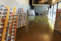 Paneles Moviles FAV 2013 / Prototipo Marquesina. 500 cajas de leche. Valparaíso, V Región 2012