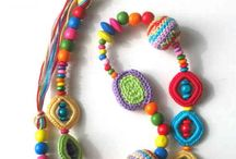 necklaces- crocheted