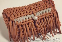 crochet clutch -bags
