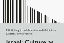 Israel: Culture as Propaganda? / P21 Gallery, in collaboration with Brick Lane Debates, invites you to: Israel: Culture as Propaganda? Speakers: Hazem Jamjoum and Sylvia Ferreira.  Wednesday, 9 December 2015, 19:00 - 21:00.  RSVP: https://podio.com/webforms/14389385/964536 .  Location: 21 Chalton Street, London, NW1 1JD | Nearest underground: King's Cross/St. Pancras and Euston Station | Tel: 020 7121 6190 | Web: www.p21.org.uk