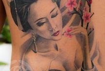 Tattoo gejša