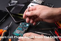 Online Cell Phone Repair Training / Learn cell phone repair online. Prizm institute offers online training in mobile phone repair through a video DVD and a book. This course will teach you the skills needed to fix all types of cell phones and tablets.
