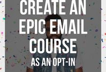 Email Lists / Tips and tricks for gaining and leveraging an email list.