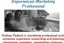Andrew Padnick Marketing Professional / Andrew Padnick is marketing professional with extensive experience researching and planning advertising campaigns, negotiating contracts, media planning, and brand management.