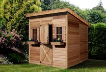 Cedarshed Canada / Our made in Canada Cedarshed outdoor sheds and high quality gazebo kits are perfect for backyard entertaining, make excellent cabins, and are top quality storage solutions.