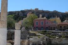 Athens' old city. / Walking in Athens' old city: Plaka, Thission. Monastiraki, etc.