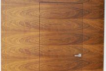 Nowoczesne drzwi bezprzylgowe / Drzwi wewnętrzne bezprzylgowe, drewniane, fornirowane, wykonane na wymiar, wykonane na zamówienie