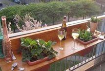 idei pentru balcon