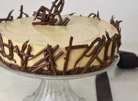 tarta fría mousse de café