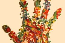 Papercrafts: Paper Quilling / Paper quilling ideas I like
