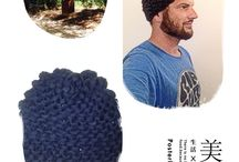 Knitted by Macho Men HAT / HAT knitted by a macho men