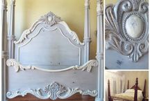 Vintage French Style Beds / Ideas and inspiration for vintage 'French Style Beds' and colour schemes