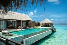 Villas, pool, bath