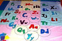 teach abc's / by Becky Cox