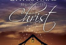 Biblical Christmas / We have hope, joy, love, and peace at Christmas because of Jesus.
