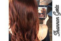 Hair by shan / Instagram: hair_by_shan / by Shan Gertz